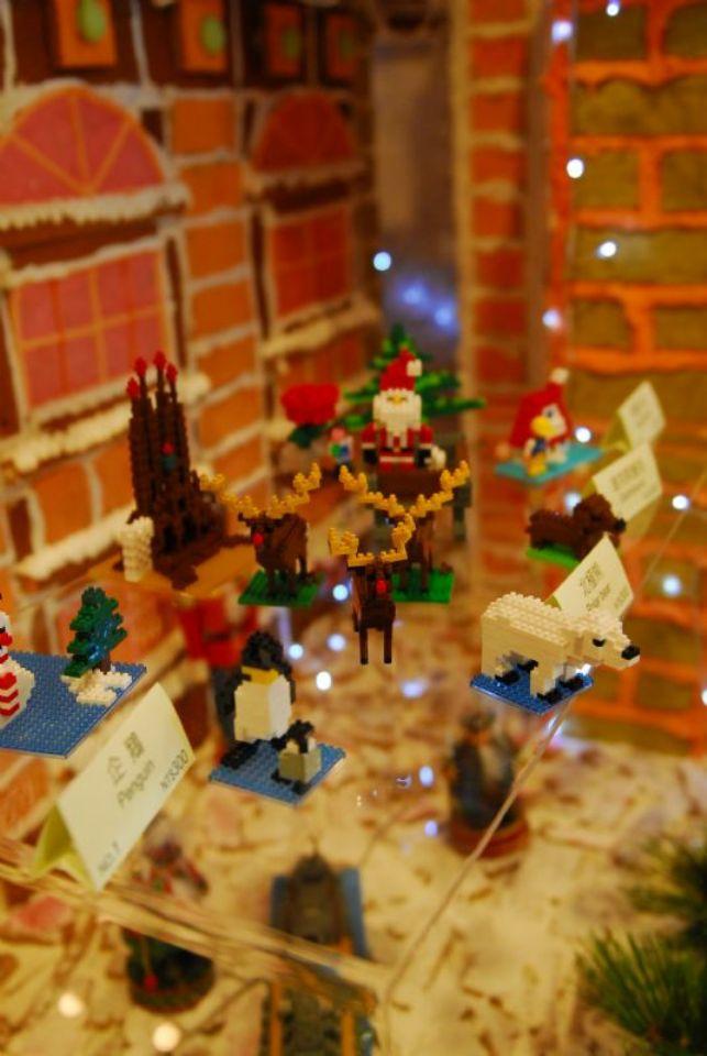 世界最小型迷你積木慈善義賣助孩童