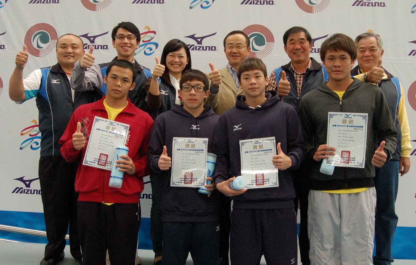 全國MIZUNO盃分齡游泳錦標賽