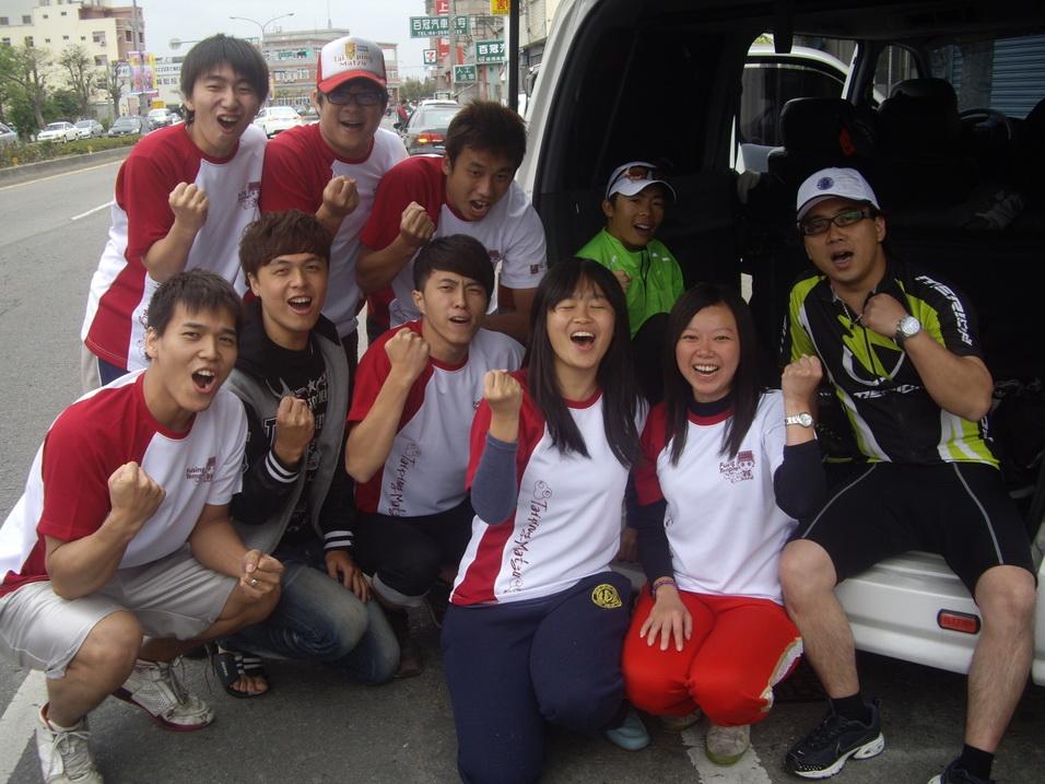 擁抱絲路 台灣起跑 團隊提前完成大肚到後龍路段