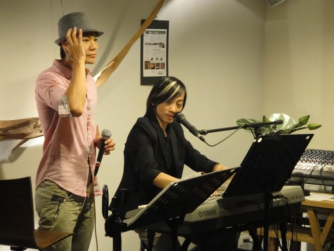 自然之島4/15週五晚上10點阿滿老師演唱