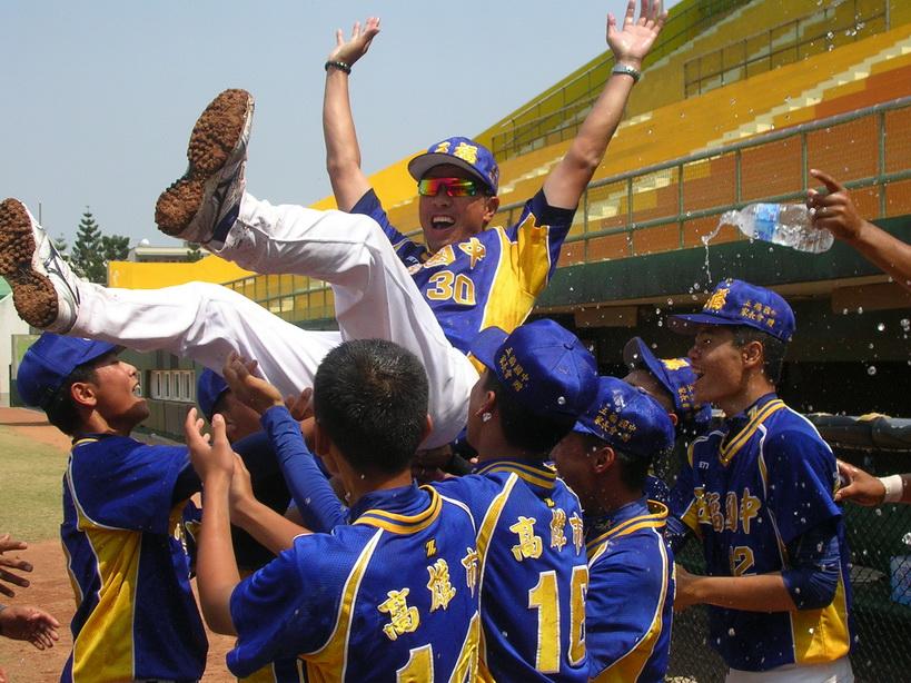 國中棒球聯賽硬式組 五福國中封王
