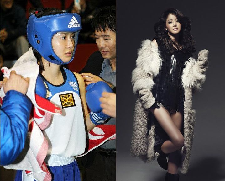 南韓最靚麗拳擊手:李詩英